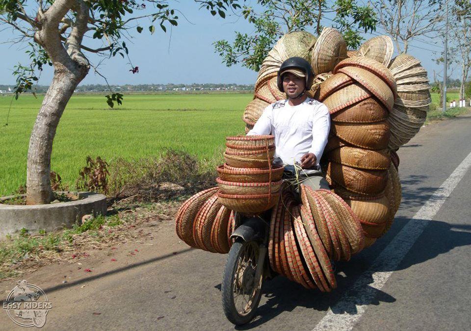 Bamboo bucket seller